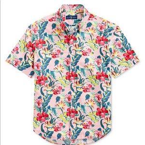 Ralph Lauren Men's Tropical Shirt Sz 4XLT